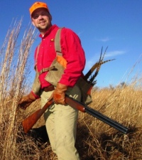 Pheasant Hunter in CRP
